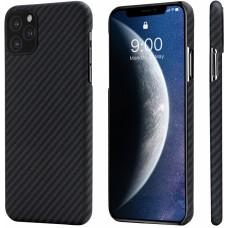Чехол Pitaka для iPhone 11 Pro черный-серый