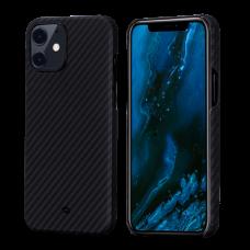 Чехол Pitaka для iPhone 12/12 Mini/12 Pro /12 ProMax черный-серый